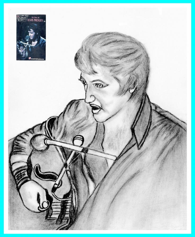Elvis Presley by Vuilletjossjoss